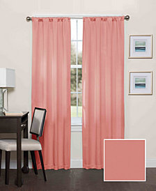 Eclipse Darrell Thermaweave Blackout 37X84 Window Curtain Panel