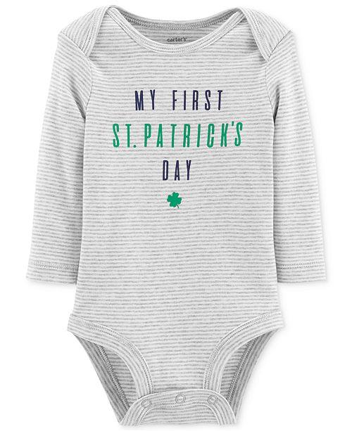 b71cc00786 Carter s Baby Boys or Baby Girls Shamrock Bodysuit - All Baby - Kids ...