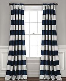 "Stripe 52"" x 95"" Blackout Curtain Set"