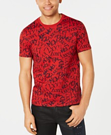 GUESS Men's Graffiti T-Shirt