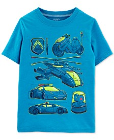Carter's Little Boys Vehicle Graphic T-Shirt
