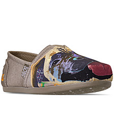 Skechers Women's Bobs Plush - Paw-Fection Rocky Bobs for Dogs and Cats Casual Slip-On Flats from Finish Line