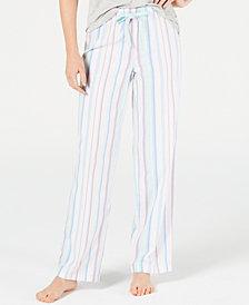 Jenni Cotton Pajama Pants, Created for Macy's