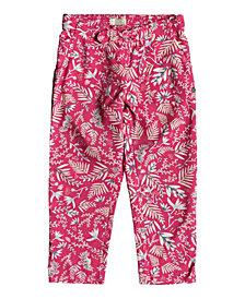 Roxy Little Girls Real Peach Pants