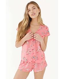Plum Pretty Sugar Keepsake Shortie Pajama Set