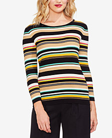 Vince Camuto Cotton Striped Sweater