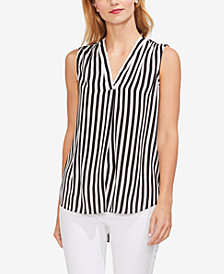 Vince Camuto Striped Sleeveless Top