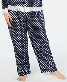 Charter Club Plus-Size Long Pajama Pants