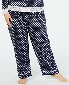 Charter Club Plus-Size Long Pajama Pants