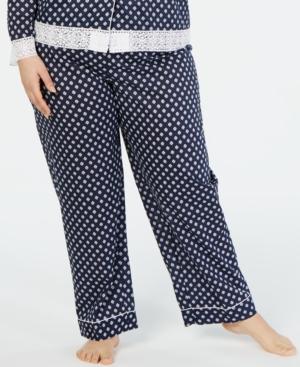Charter Club Plus- Long Pajama Pants