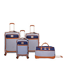 Jessica Simpson Breton Pop Spinner Luggage Collection