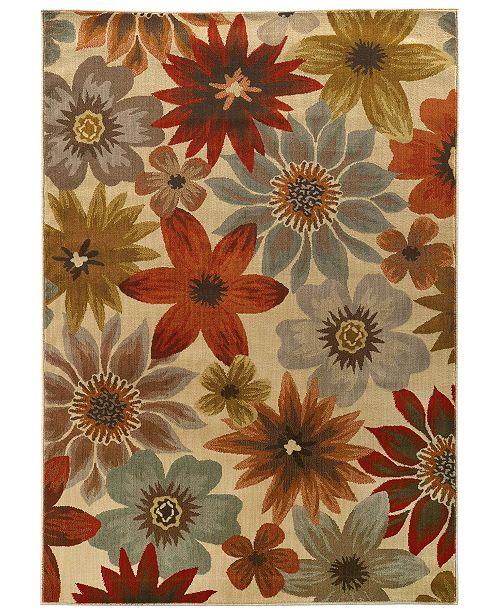 """Oriental Weavers CLOSEOUT!  Casablanca 5190A Beige/Multi 7'10"""" x 10'10"""" Area Rug"""