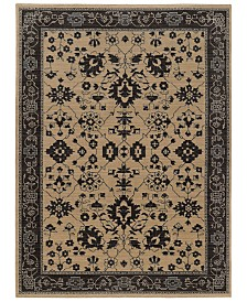 "Oriental Weavers Foundry 596I5 Sand/Gray 6'7"" x 9'6"" Area Rug"