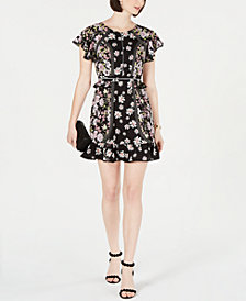 Laundry by Shelli Segal Embellished Fit & Flare Dress