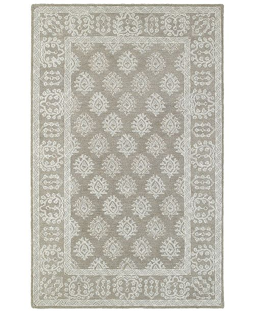 Oriental Weavers Manor 81202 Gray/Beige 8' x 10' Area Rug