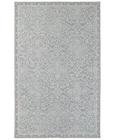 Oriental Weavers Manor 81205 Gray/Blue 8' x 10' Area Rug