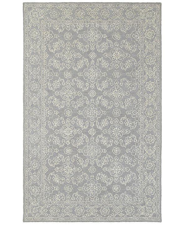 Oriental Weavers Manor 81208 Gray/Stone 8' x 10' Area Rug
