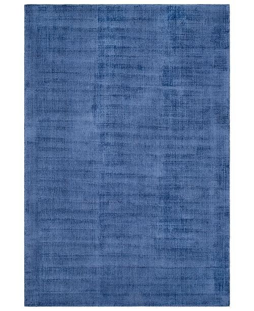 "Surya Wilkinson WLK-1001 Dark Blue 5' x 7'6"" Area Rug"