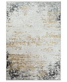 "Solar SOR-2302 Medium Gray 5' x 7'6"" Area Rug"