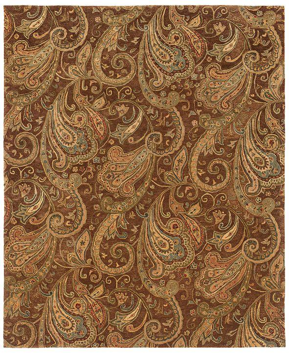 """Oriental Weavers Huntley 19102 Brown/Gold 8'3"""" x 11'3"""" Area Rug"""