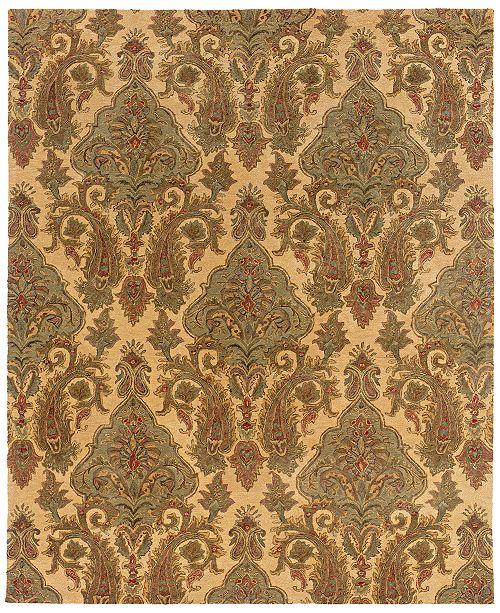 "Oriental Weavers Huntley 19106 Beige/Green 3'6"" x 5'6"" Area Rug"