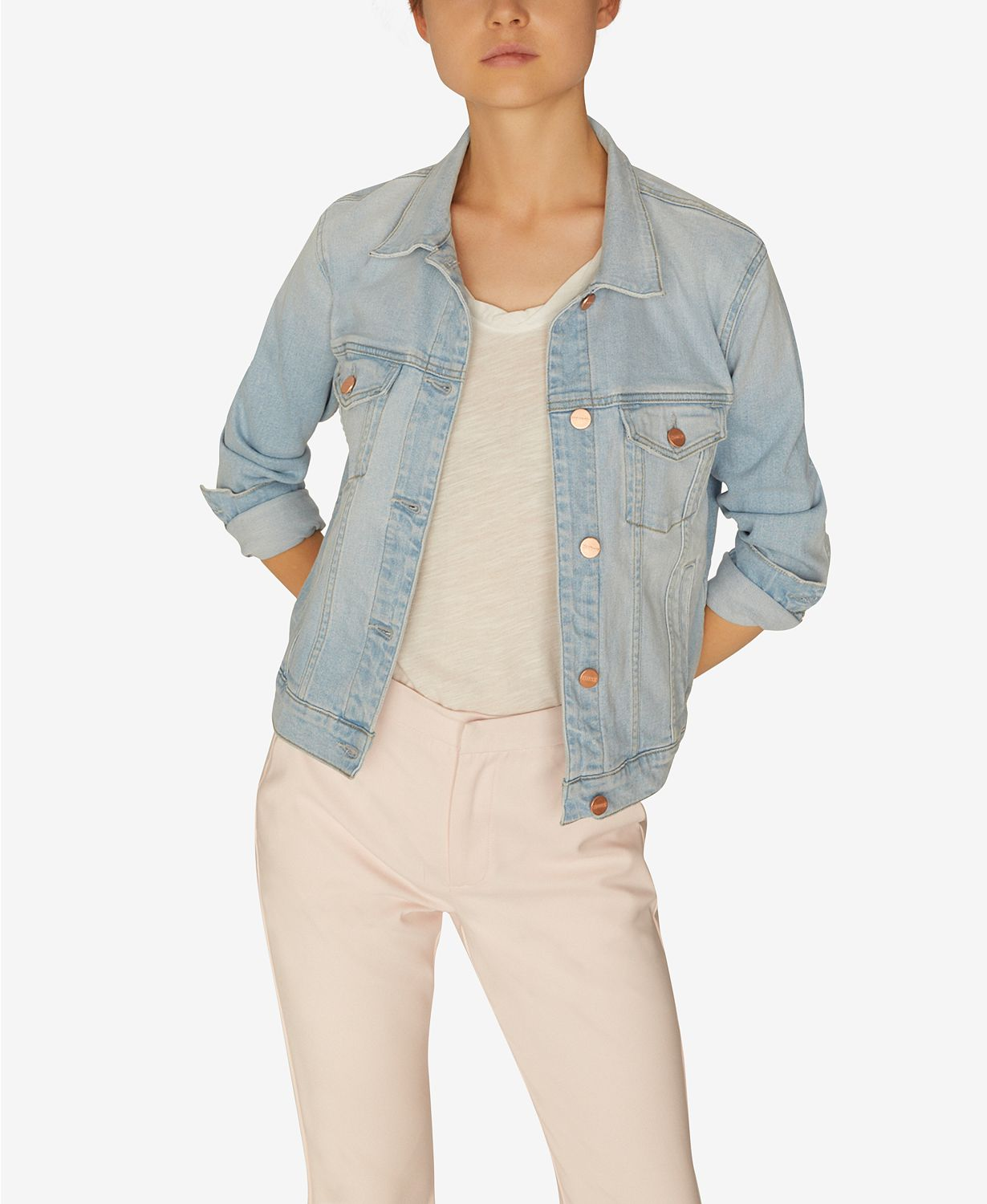 Sanctuary Kyle Denim Jacket. Come discover these Over 50 Fashion: Running Errands Comfy Cute Pieces! #fashionover50
