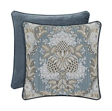 """J Queen Crystal Palace 18"""" Square Decorative Pillow"""