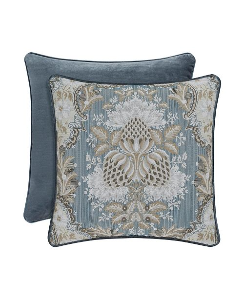 """J Queen New York J Queen Crystal Palace 18"""" Square Decorative Pillow"""