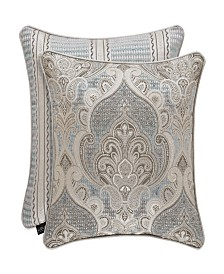 "J Queen Dimitri 20"" Square Decorative Pillow"