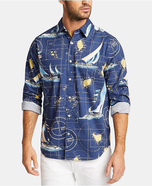 Nautica Nautica Men's Sailboat Shirt, Created for Macy's