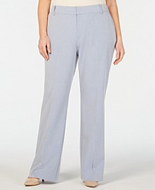 Plus Size High-Waist Pants, Created for Macy's