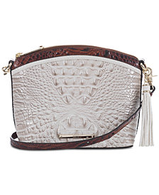 Brahmin Duxbury Embossed Leather Shoulder Bag
