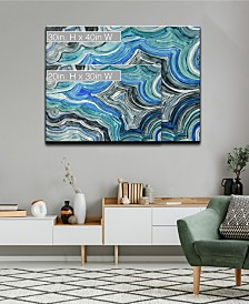Ready2HangArt 'Cool Geode' Canvas Wall Art Collection