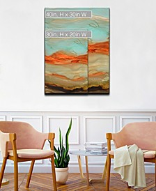 'Jupiters Eye' Canvas Wall Art Collection