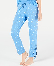 Jenni Ultra Soft Printed Pajama Pants, Created for Macy's