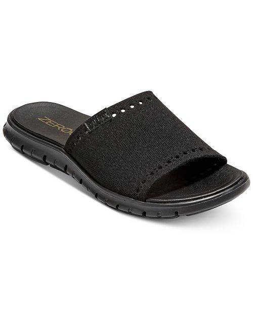 8ea85c5f2eb5 Cole Haan Men s ZeroGrand Stitchlite Slide Sandals - All Men s Shoes ...