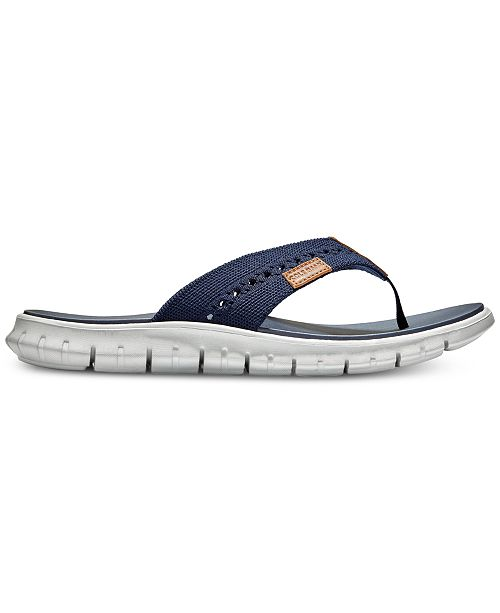 8a2e3caf2650 Cole Haan Men s ZeroGrand Stitchlite Thong Sandals   Reviews - All ...