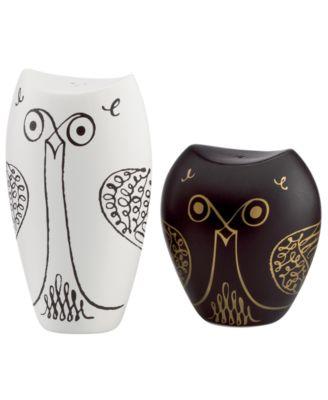Salt and Pepper Shakers, Woodland Park Owl