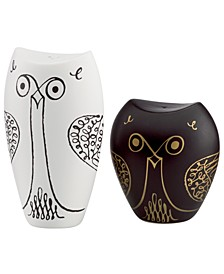 Salt and Pepper Shakers, Woodland Park Owl