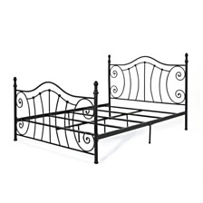 Caragh Queen Bed Frame, Quick Ship- cannot add images
