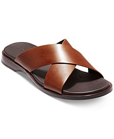 Cole Haan Men's Goldwyn 2.0 Cross Band Slide Sandals