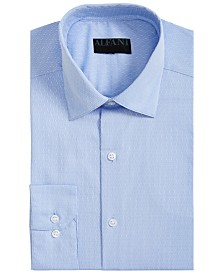 Alfani Men's Classic-Fit AlfaTech Dobby Shirt, Created for Macy's