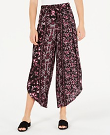 American Rag Juniors' Floral-Print Soft Pants, Created for Macy's