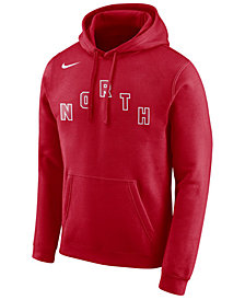 Nike Men's Toronto Raptors Earned Edition Logo Essential Hoodie