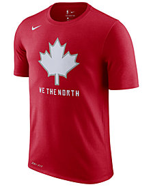Nike Men's Toronto Raptors  Earned Edition T-Shirt