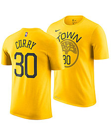 Nike Men's Stephen Curry Golden State Warriors Earned Edition Player T-Shirt