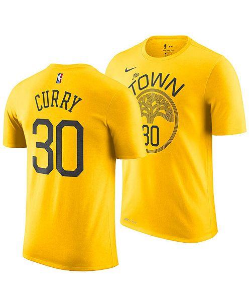 hot sale online 8c360 97e71 Nike Men's Stephen Curry Golden State Warriors Earned ...