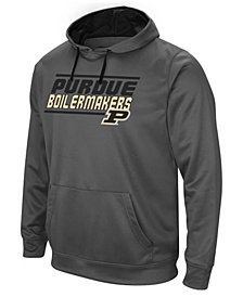 Colosseum Men's Purdue Boilermakers Stack Performance Hoodie