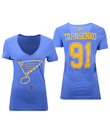 Authentic NHL Apparel Women's Vladimir Tarasenko St. Louis Blues Alternative Player T-Shirt