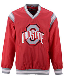 G-III Sports Men's Ohio State Buckeyes Nylon Big Logo Pullover Jacket